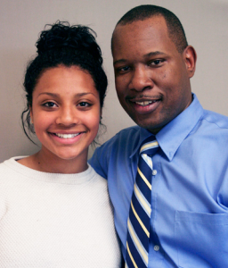 Wil Smith and his daughter